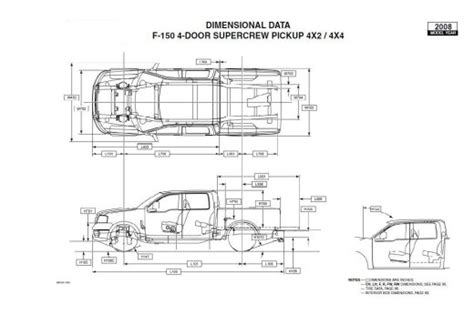 ford f 150 truck bed dimensions can anyone give frame dimensions for 2004 f150 s and 2003