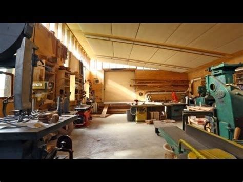 Frank Howarth Woodshop Tour Woodworking Awesome