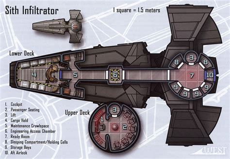 star wars ship floor plans scimitar google search