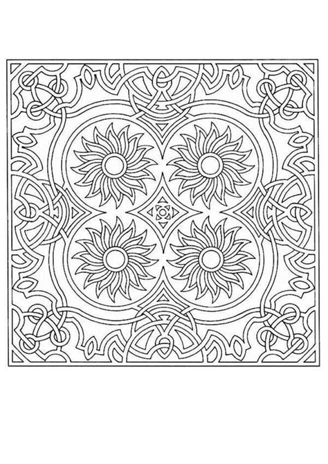 coloring pages hard mandala difficult coloring page mandala coloring home