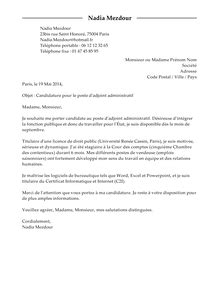 Modã Les Lettre De Motivation ã Tudiant Cover Letter Exle Lettre De Motivation Modele Gratuit Juriste