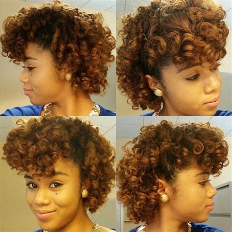 mohawk with flex rods 183 best natural hair roller set images on pinterest