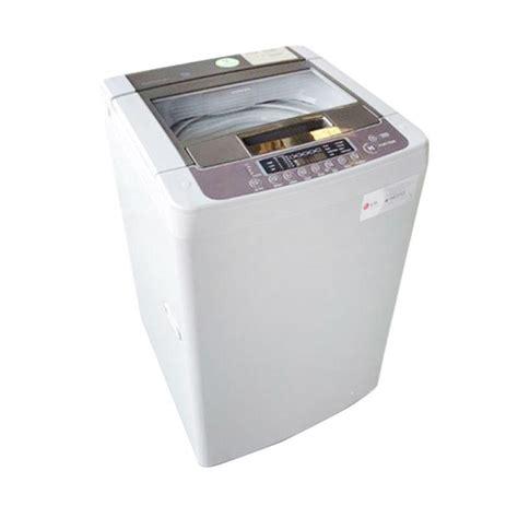 Mesin Cuci Lg Turbo Drum Express Wash Jual Lg Ts75vm Mesin Cuci Top Loading 7 5 Kg Khusus Jabodetabek Harga Kualitas
