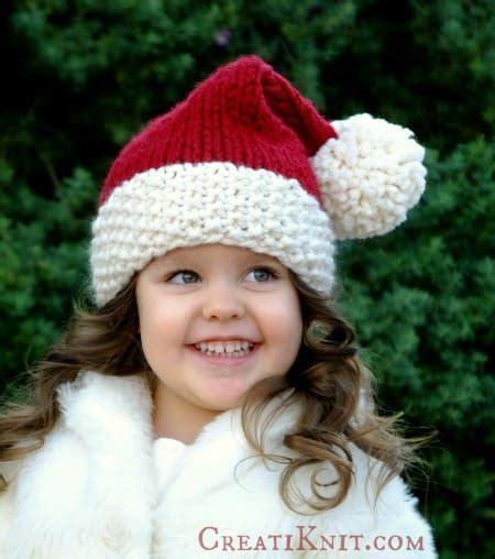 knitting pattern christmas hat crochet christmas hats pattern ideas lots of free patterns