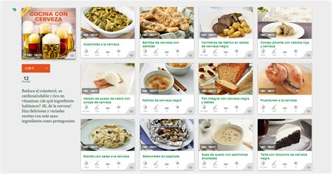 cocina con cerveza nueva colecci 211 n de recetas cocina con cerveza el blog