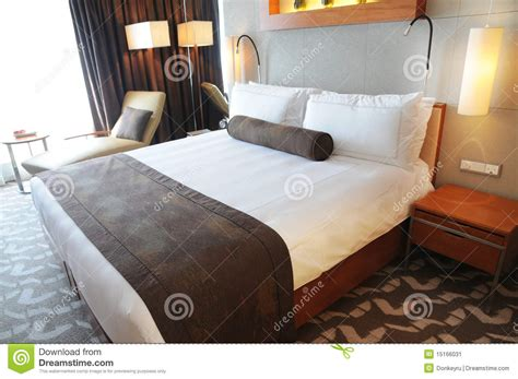 luxury king size bed luxury hotel room with king size bed stock image image 15166031