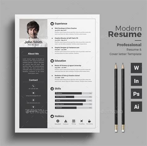 professional resume template psd 20 best professional resume template psd