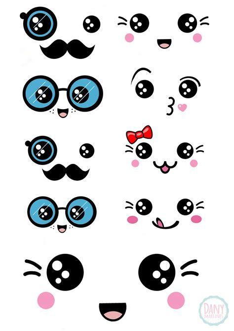 imagenes de ojitos kawaii kawaii faces tem v 237 deo com ideias para utilizar os
