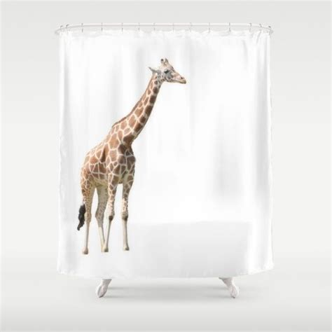 giraffe bathroom 33 best images about awesome giraffe shower curtain