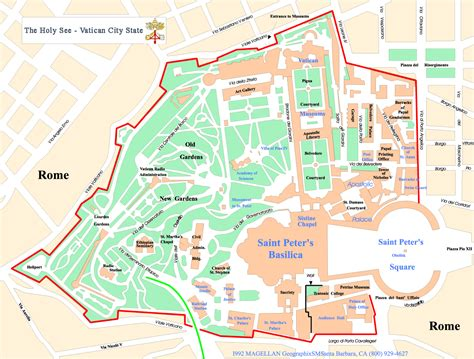 vatican city map in world vatican city map vatican city mappery