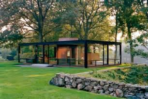 la glass house di philip johnson new canaan connecticut