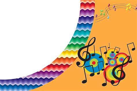 printable birthday cards music music birthday party free printable invitations oh my