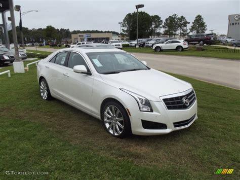 cadillac ats white white tricoat 2013 cadillac ats 2 5l luxury