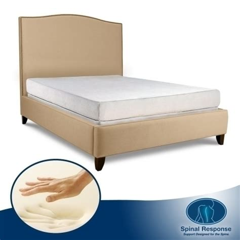 Size Mattress Size Inches by Orthopedic 8 Inch 3 Layer Size Mattress Bed