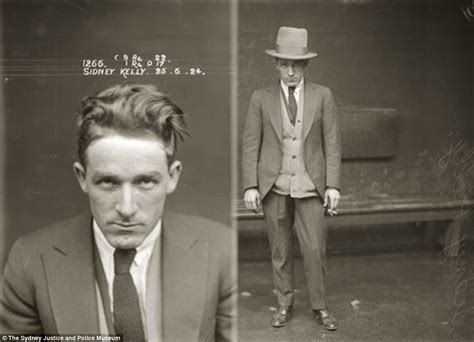 vintage police mugshots of 1920s australian criminals that
