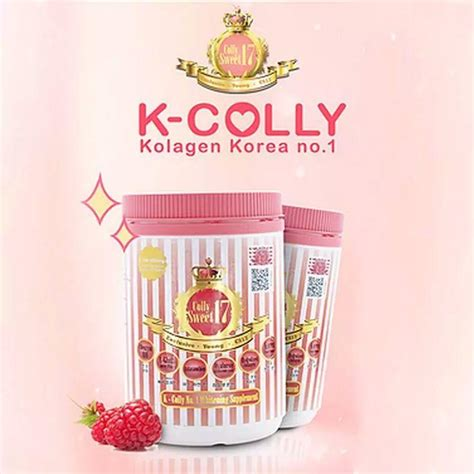 Collagen K Colly korean collagen colly sweet17