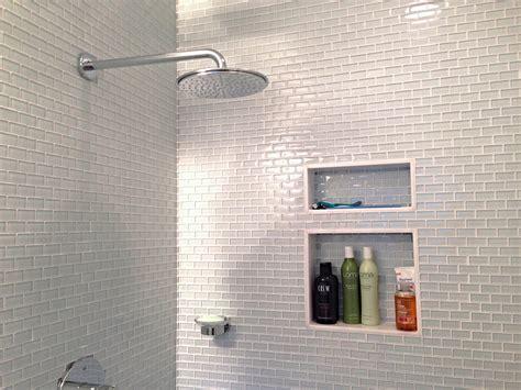 Modern Bathroom Glass Tile Glass Subway Tile Bathroom Bathroom Modern With Glass Tile