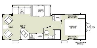 fleetwood travel trailers floor plans units available for 2009 fleetwood rv wilderness 260rls