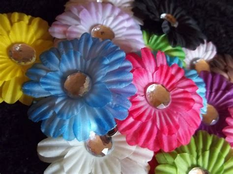 Handmade Flower Hair - handmade flower hair
