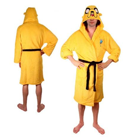 adventure time bathroom adventure time jake the dog yellow hooded bath robe