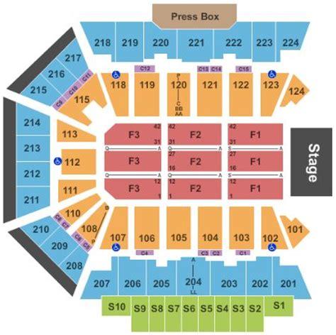 bmo harris seating chart bmo harris bank center tickets and bmo harris bank center