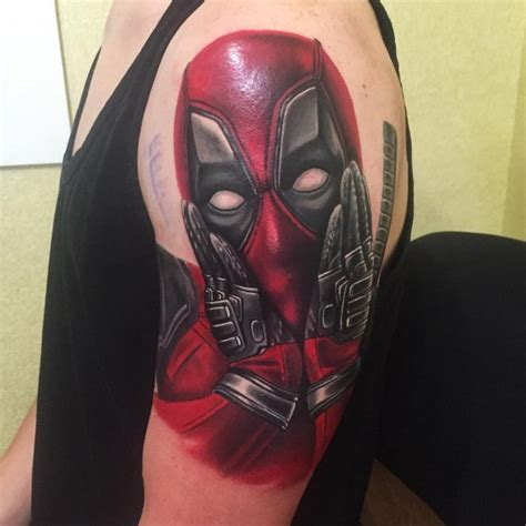 70 dashing deadpool tattoo designs redefining deadpool