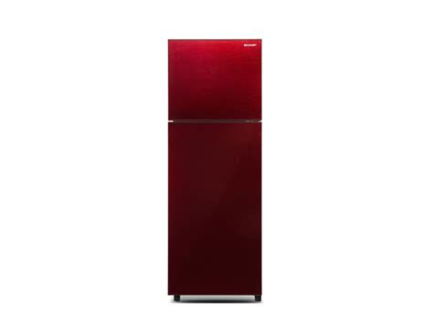 Sharp Kulkas 2 Pintu Sj F201s Rd electronic city sharp refrigerator 2 door sj 326xg mr