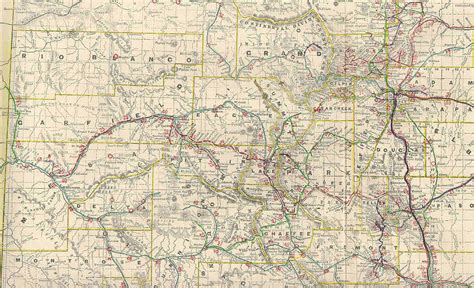 maps of colorado chaffee county colorado maps