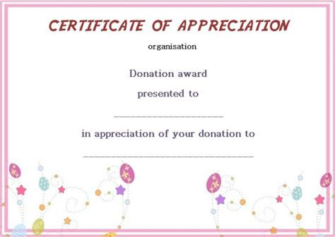 silent auction gift certificate template 22 legitimate donation certificate templates for your next
