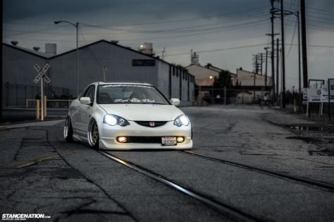 Build A 2 Car Garage Dumped Amp Fitted Jerald S Bagged Acura Rsx