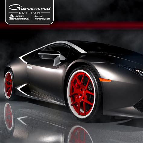 printable vinyl car wrap giovanna wheels teams with avery dennison to create custom