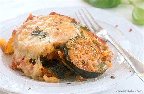 easy baked eggplant parmesan recipe