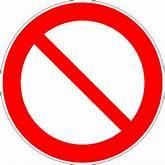 Icône rouge rond pictogramme interdit à télécharger gratuitement