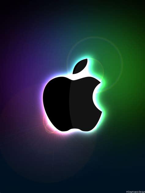 wallpaper apple deviantart glowing apple ipad wallpaper by graphicazio on deviantart