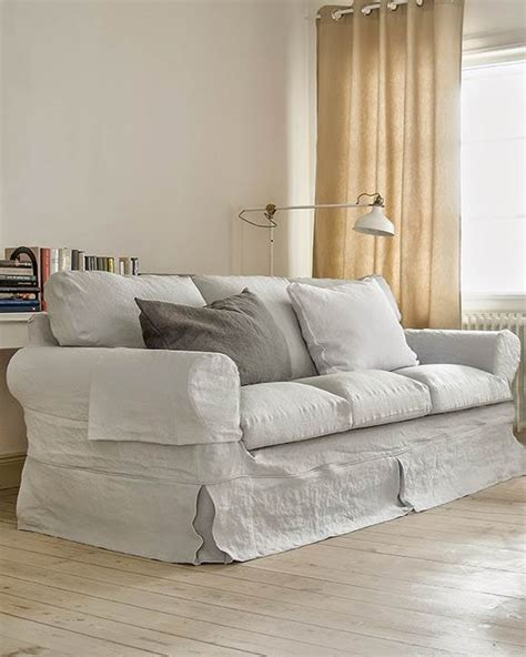 Ektorp 3 Seater Sofa Cover Loose Fit Country Bemz