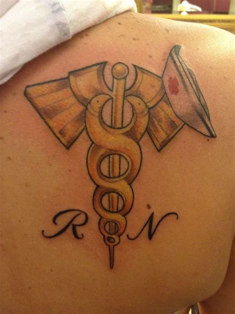 nurse symbol tattoo designs 9 best rn ideas images on rn