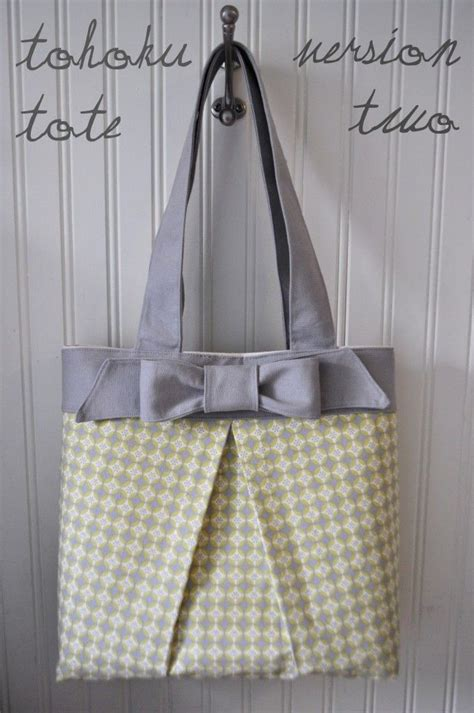 free online sewing pattern tote bag the tohoku tote bag free pattern tutorial how to sew
