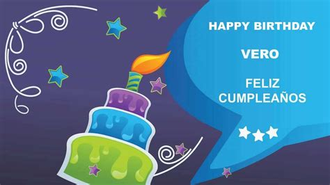 imagenes de happy birthday vero vero card tarjeta happy birthday youtube