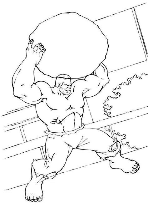 hulk smash coloring pages
