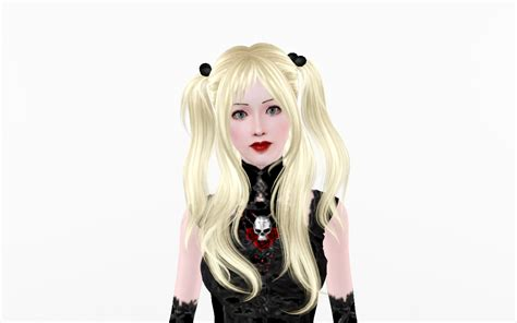 sims 4 death note cc mod the sims misa amane sim from deathnote