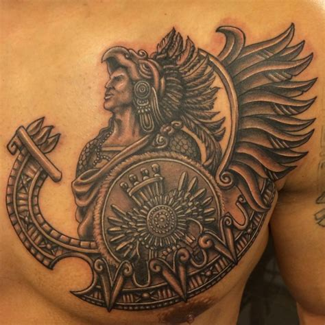 50 Aztec Tattoos You Should Try As A Tattoo Lover Yo Tattoo Unique Aztec Designs
