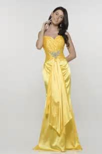 elegant yellow mermaid wedding dresses cherry marry