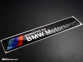 Bmw Decals Bmw Motorsport Emblem