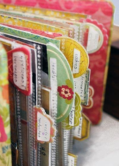 Handmade Recipe Book Ideas - recipe book craft ideas