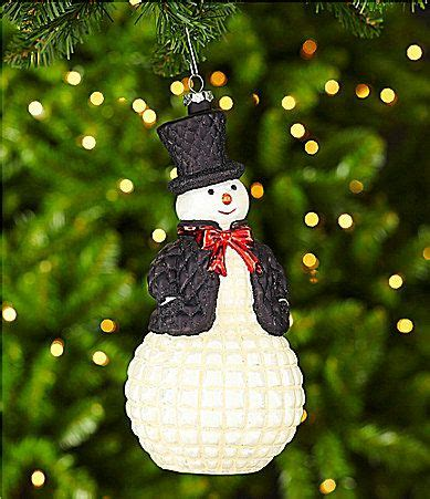 dillards trimmings checking it twice tophat snowman