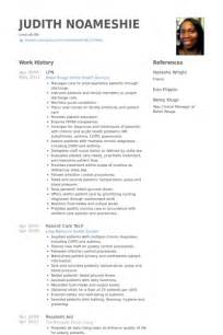 lpn resume objective free lpn resume sle best professional resumes letters templates for free