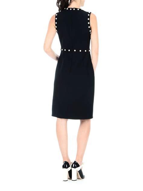 Dress Ton silk and wool bon ton sheath dress by gucci knee length