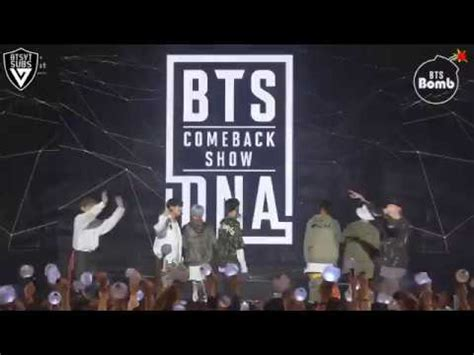 bts dna comeback show sub espa 209 ol bangtan bomb behind the stage of mic drop