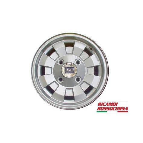 Lancia Fulvia Wheels Alloy Wheel Replica Silver Cromodora 6x14 Lancia Fulvia By