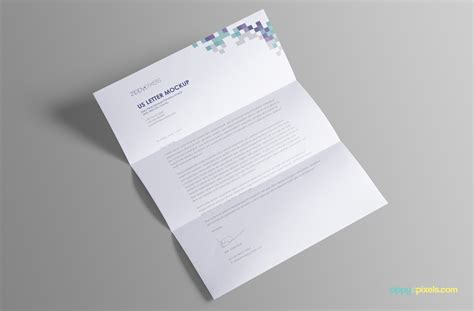 Gift Letter Psd Free Us Letter Paper Mock Up Psd On Behance